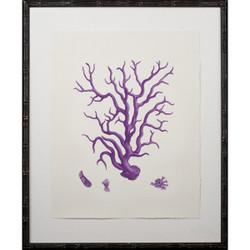 Purple Coral Giclee III