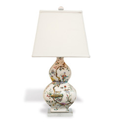 Chinoise Exotique Lamp/Square