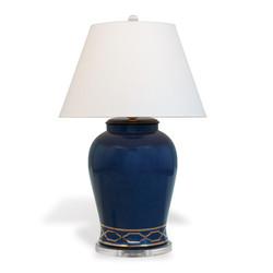 Pavillion Indigo Lamp