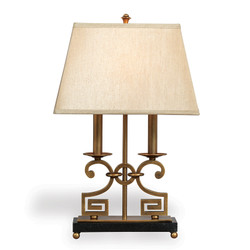 Whitney Brass Desk Lamp