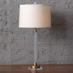 Maxwell Brass Lamp