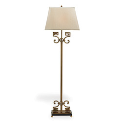 Whitney Floor Lamp Brass