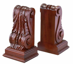 Monticello Acanthus Bookends