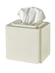 Deco Tissue Cover- White
