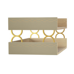 Norma Double Letter Tray