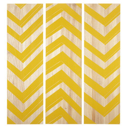 Zig Zag Panels - Set Of 3