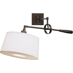 Real Simple Wall Mounted Boom Lamp - Dark Bronze Powder Coat