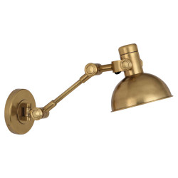 Rico Espinet Scout Wall Sconce - Antique Brass
