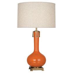 Athena Table Lamp - Pumpkin