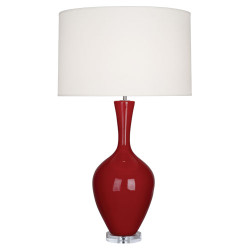 Audrey Table Lamp - Oxblood