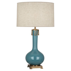 Athena Table Lamp - Steel Blue
