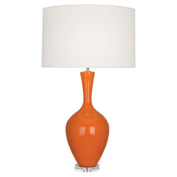 Audrey Table Lamp - Pumpkin
