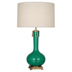Athena Table Lamp - Eggplant