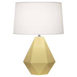 Delta Table Lamp - Butter