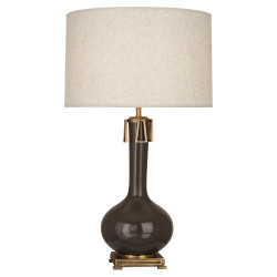 Athena Table Lamp - Brown Tea