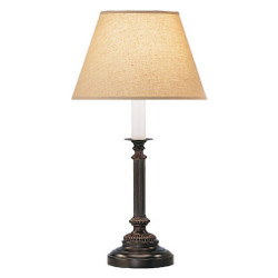 Abbey Bronze Table Lamp - Victorian Bronze