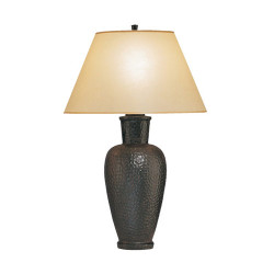 Beaux Arts Urn Table Lamp - Antique Rust