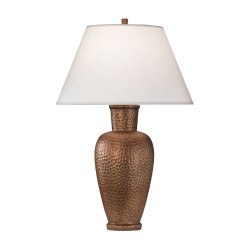 Beaux Arts Urn Table Lamp - Dark Antique Copper
