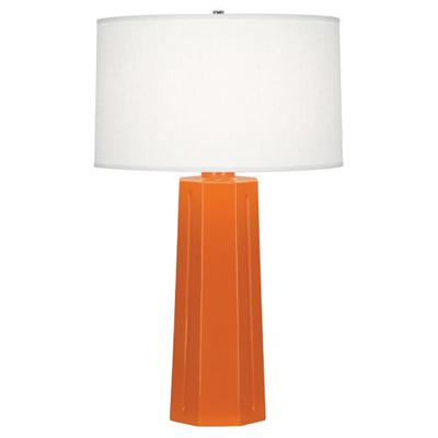Mason Table Lamp - Pumpkin