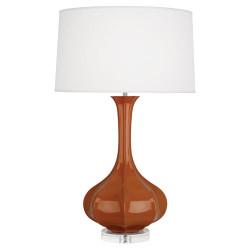Pike Table Lamp - Lucite - Cinnamon