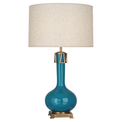 Athena Table Lamp - Peacock