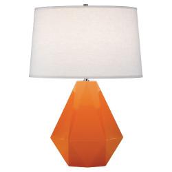 Delta Table Lamp - Pumpkin