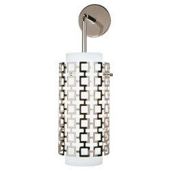 Jonathan Adler Parker Wall Pendant Sconce - Polished Nickel