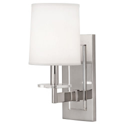 Alice Double Wall Sconce - Polished Nickel