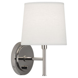 Bandit Wall Sconce - Polished Nickel