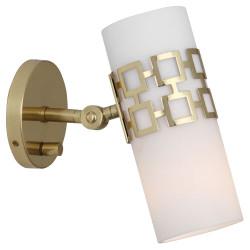 Jonathan Adler Parker Adjustable Wall Sconce - Antique Brass