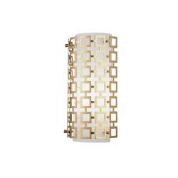 Jonathan Adler Parker Half Round Wall Sconce - Antique Brass