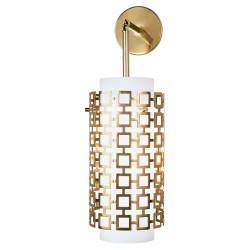 Jonathan Adler Parker Wall Pendant Sconce - Antique Brass