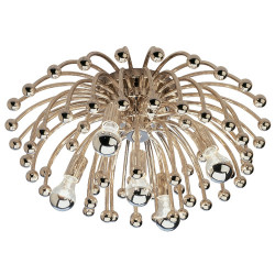 Anemone Flushmount - Polished Nickel