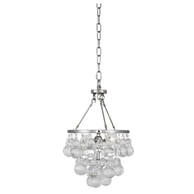 Bling Chandelier - Small - Polished Nickel