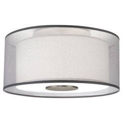 Saturnia Semi Flush Mount - Stainless Steel