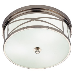 Chase Flushmount - Polished Nickel