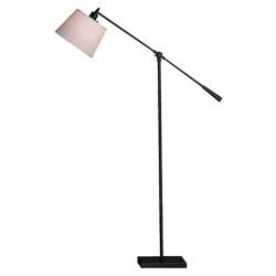 Real Simple Boom Floor Lamp - Matte Black Powder Coat
