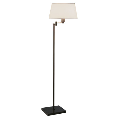 Real Simple Swing Arm Floor Lamp - Dark Bronze Powder Coat