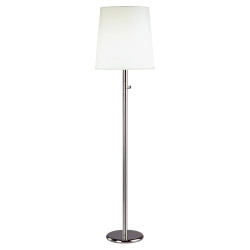Rico Espinet Buster Chica Floor Lamp - Polished Nickel