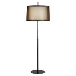 Saturnia Floor Lamp - Deep Patina Bronze