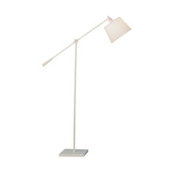 Real Simple Boom Floor Lamp - Stardust White Powder Coat