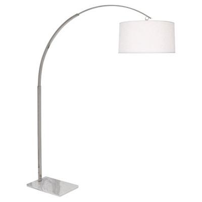 Archer Floor Lamp - Polished Nickel
