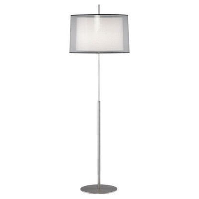Saturnia Floor Lamp - Stainless Steel