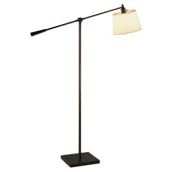 Real Simple Boom Floor Lamp - Deep Bronze Powder Coat