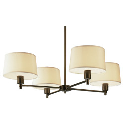 Real Simple Chandelier - Deep Bronze