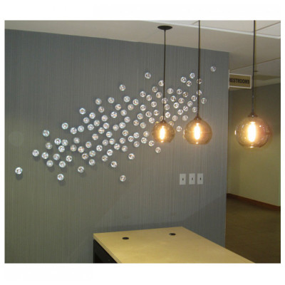 Seed Wall Play - Silver - Set of 20