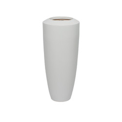 White Fiberglass Barrel - Small