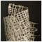 "50"" Shadow Box 'Curva Ellipse Paper' - natural frame image 5"
