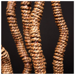 Rope Wrapped Kuwa - Set of 18