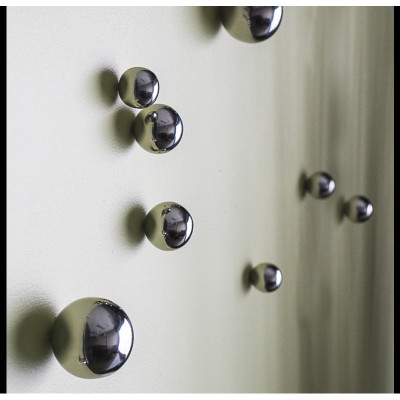 Orb Wall Play - Outdoor Stainless Steel - Set of 20